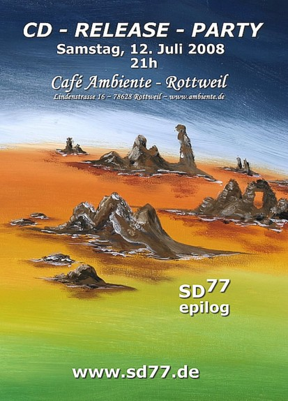 CD Release Party 12. Juli 2008, Cafe Ambiente in Rottweil